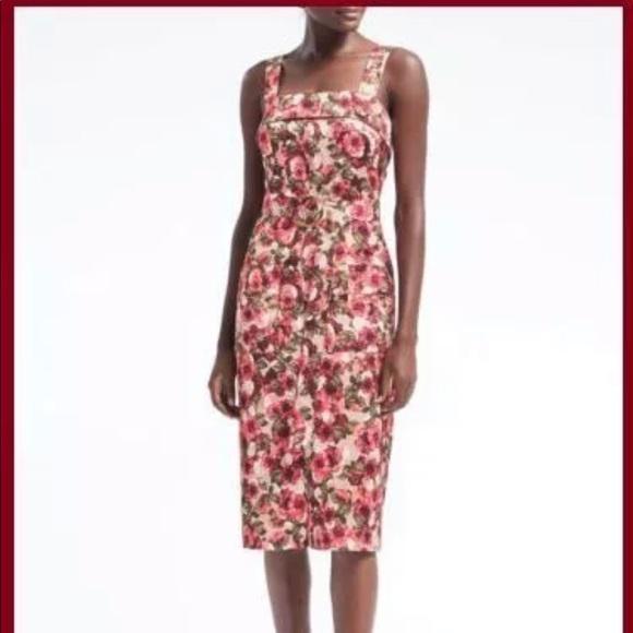 ec9d79ad3b5 Banana Republic Floral Midi Dress Size 2 NWT